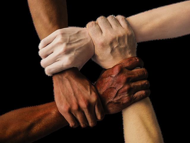 EPIC Mastermind group hands together